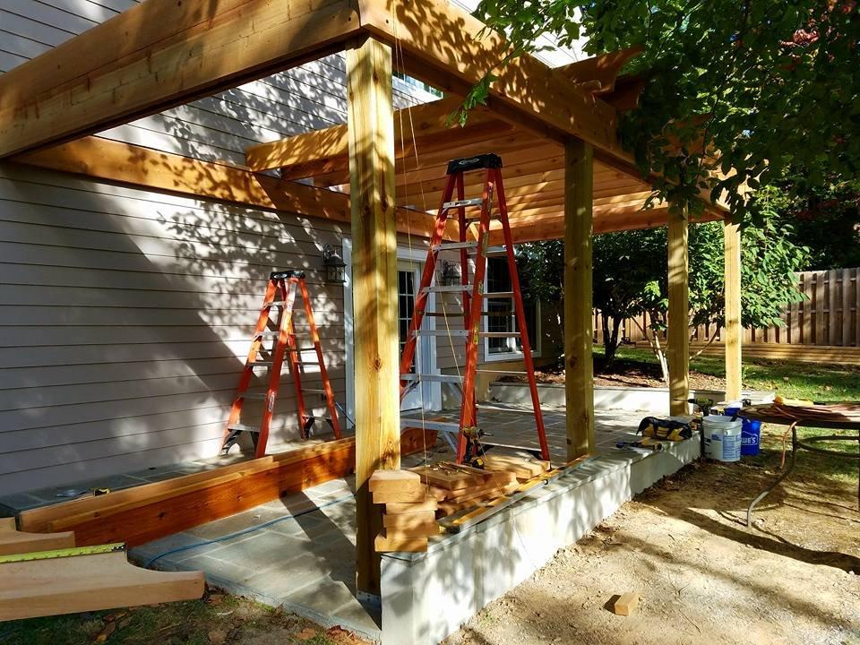 Asheville Deck: Hendersonville, NC