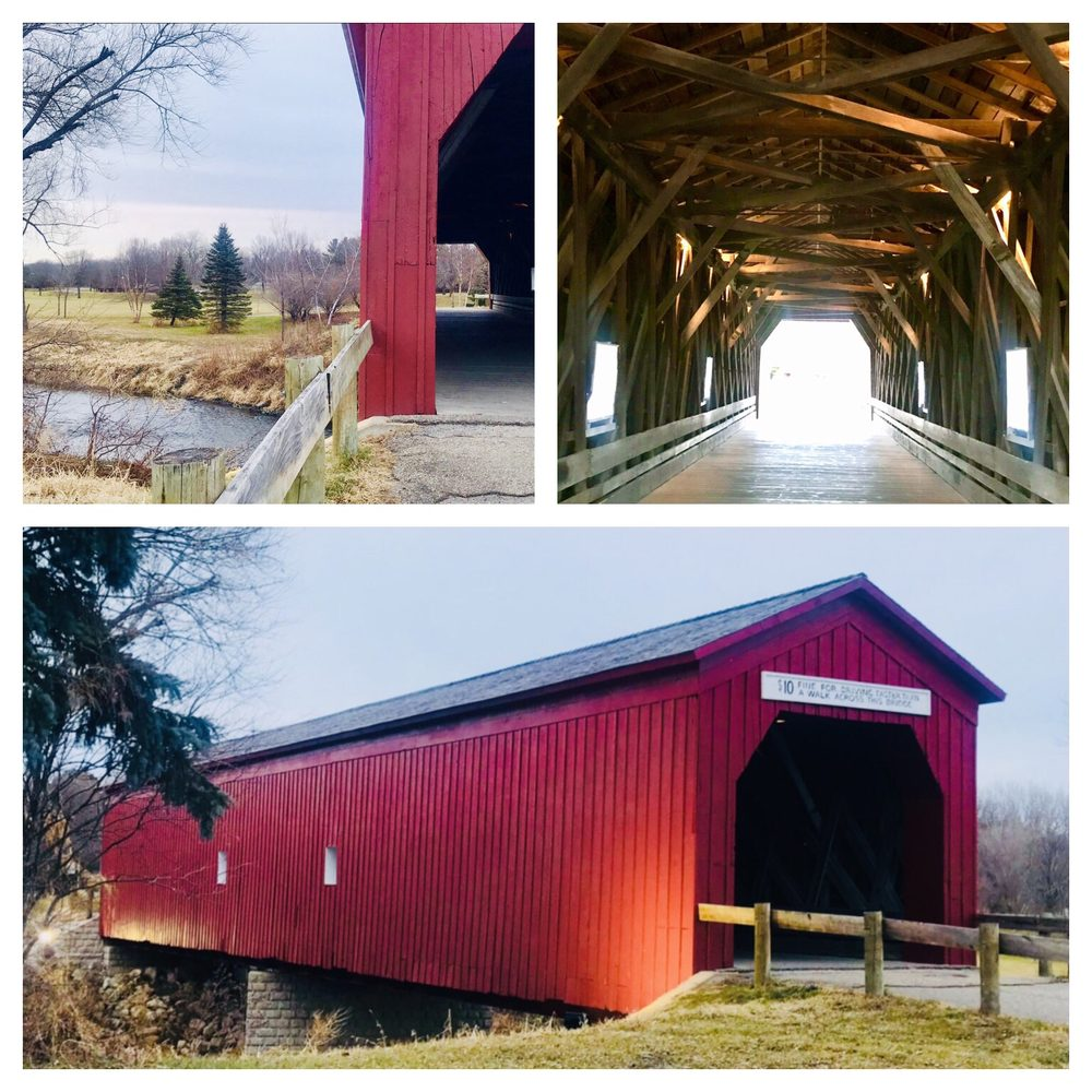 Covered Bridge Park: 175 W Ave, Zumbrota, MN