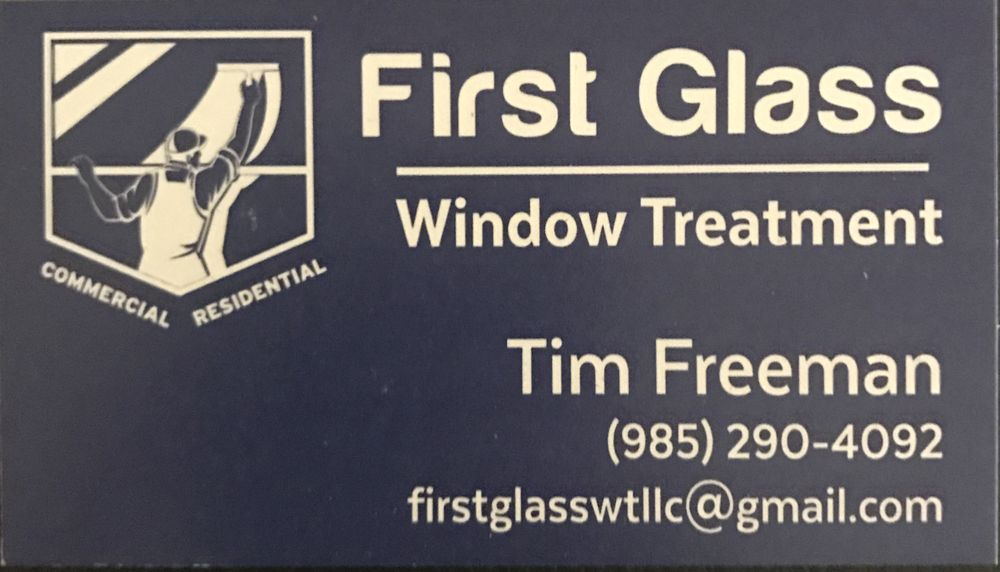 First Glass Window Treatment: Hahnville, LA
