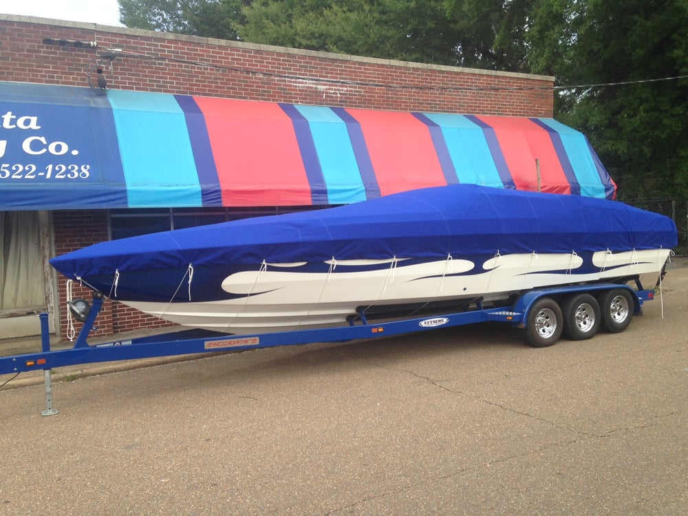 32 photos for Delta Tent u0026 Awning Company & Custom Fitted Canvas Boat Covers and Bimini Tops for Bass Boats ...