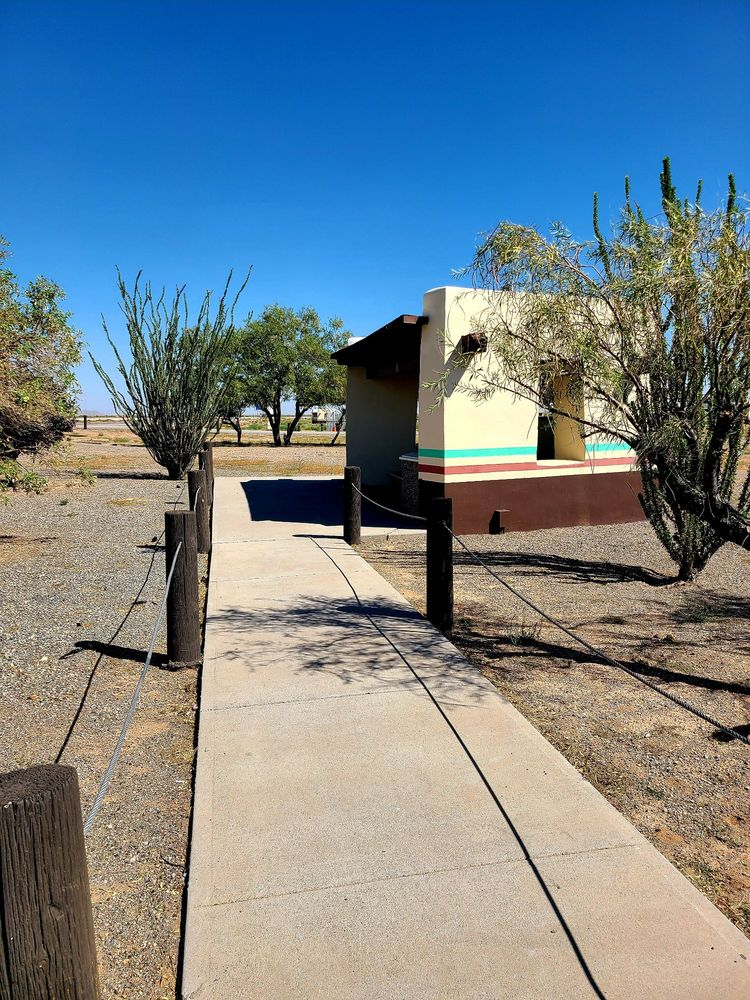 Rest Area: I-10 Rest Area EB, Deming, NM