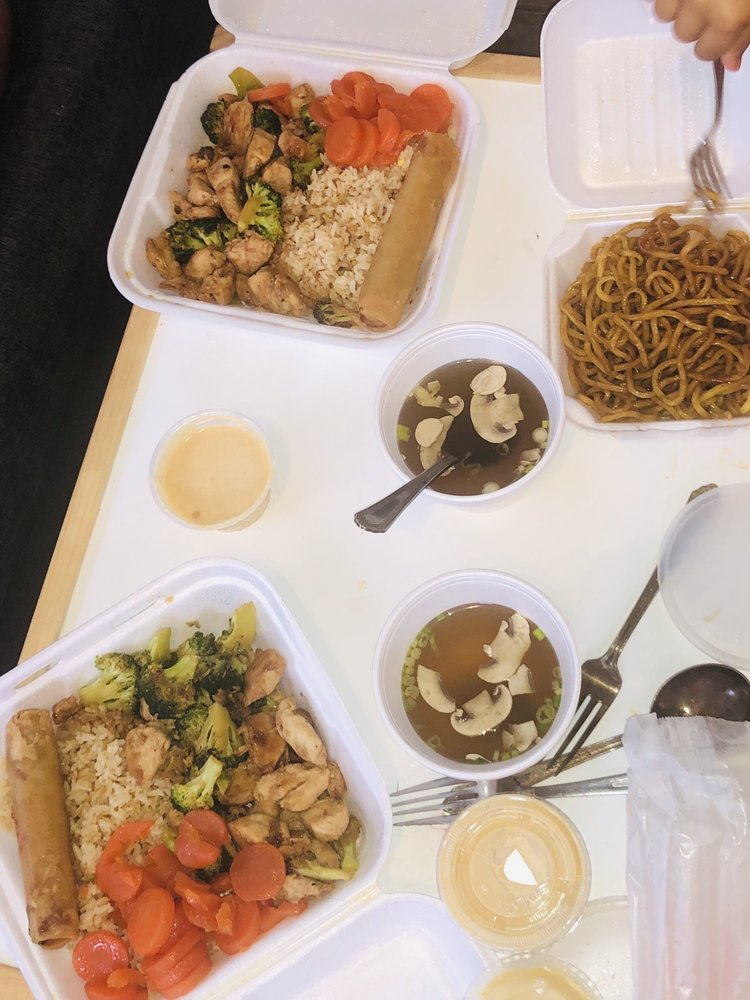 Fuji Japanese Restaurant: 104 Thornburg Dr SE, Conover, NC