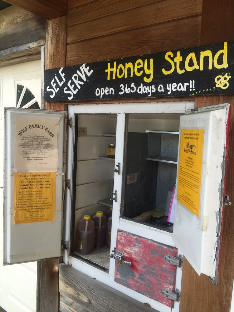 Wolf Honey Farm: 578 US Highway 63, Baldwin, WI