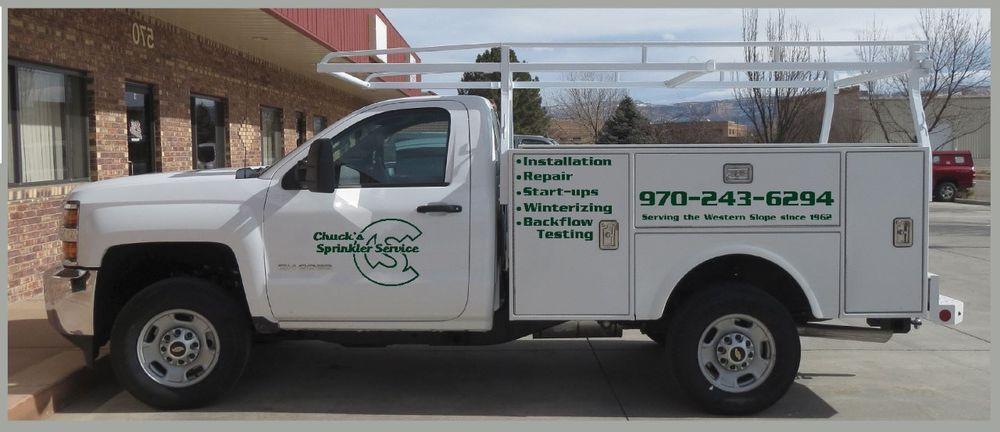 Chuck's Sprinkler Service: 2060 J Rd, Fruita, CO
