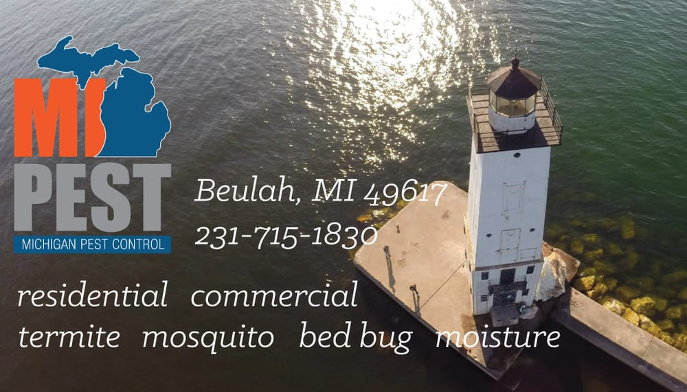 MI Pest: 493 W Lake St, Beulah, MI