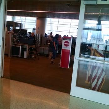 TSA Checkpoint Terminal B - San Jose International Airport