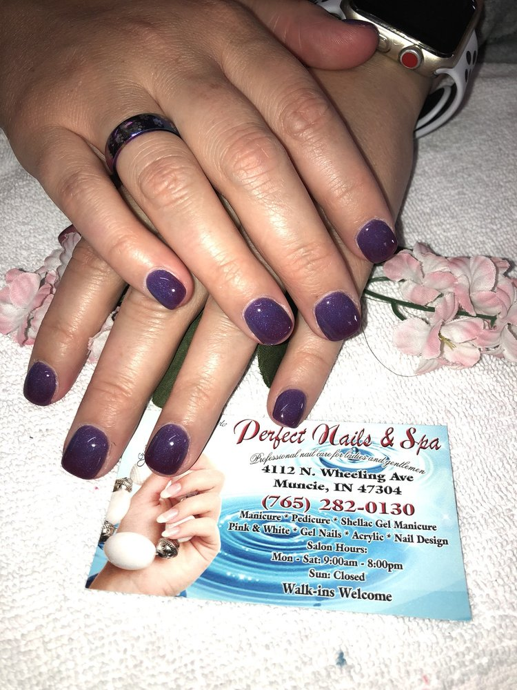 Perfect Nails & Spa: 4112 N Wheeling Ave, Muncie, IN