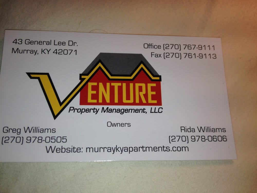 Venture Property Management   Apartments   43 General Lee Dr, Murray, KY    Phone Number   Yelp
