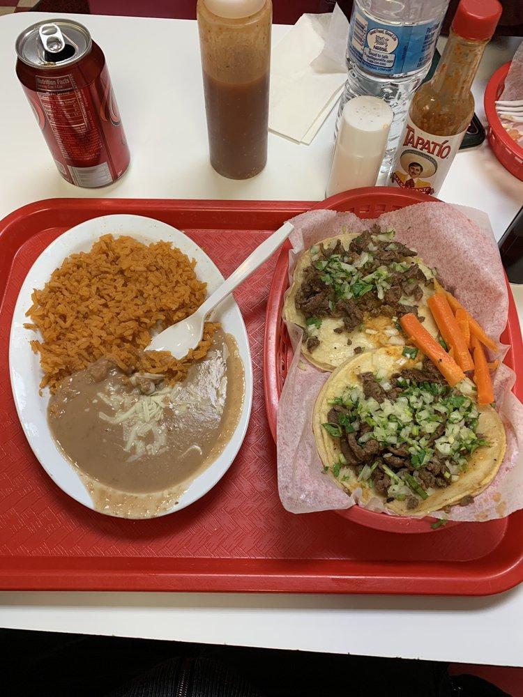 Food from La Juanita Restaurant
