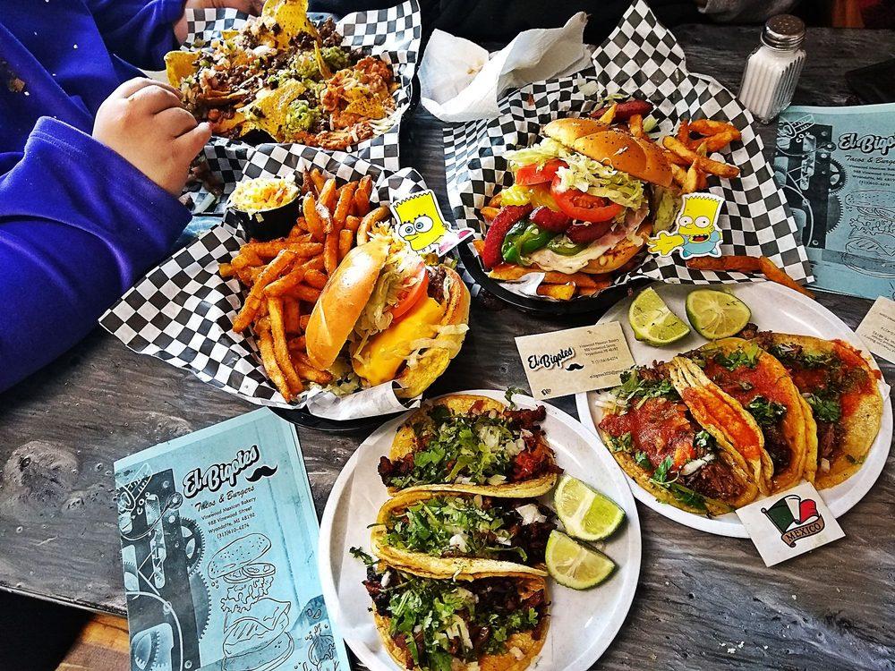 El Bigotes Tacos & Burgers: Wyandotte, MI