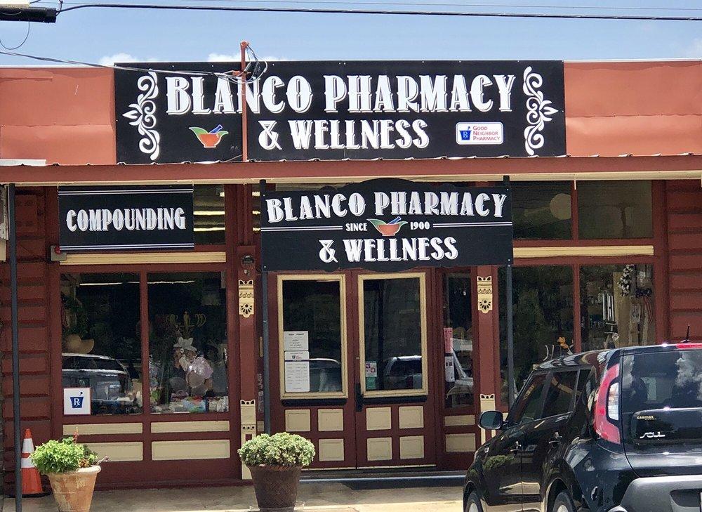 Blanco Pharmacy & Wellness: 316 Pecan St, Blanco, TX