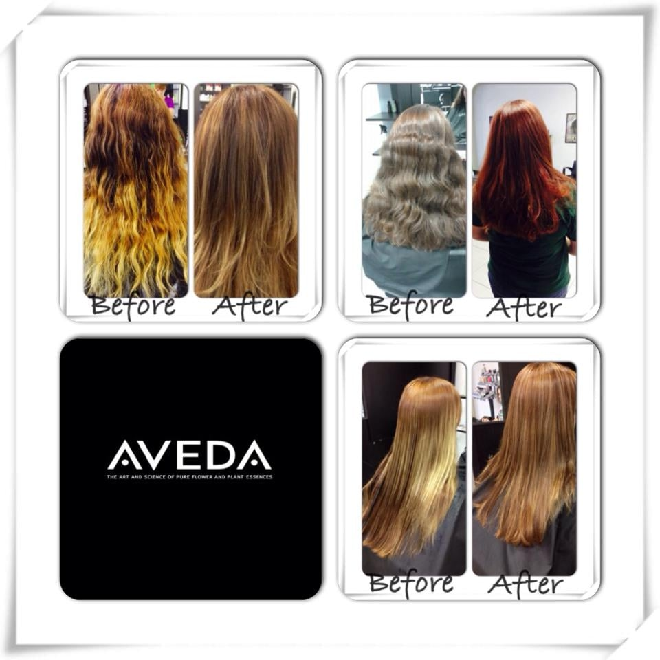 Adara salon color correction using aveda products yelp for Adara salon colorado springs