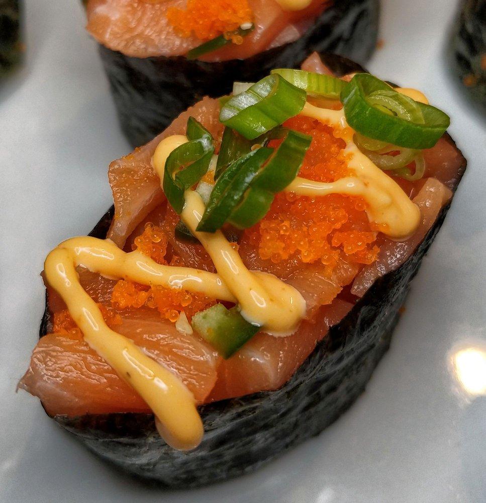 Food from SAM Sushi & Ramen
