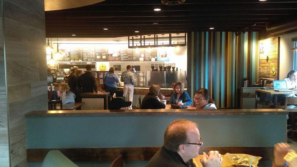 Caribou Coffee and Einstein's Bakery: 2751 County Road E E, White Bear Lake, MN