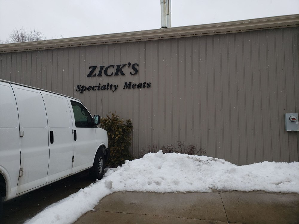 Food from Zick's Specialty Meats