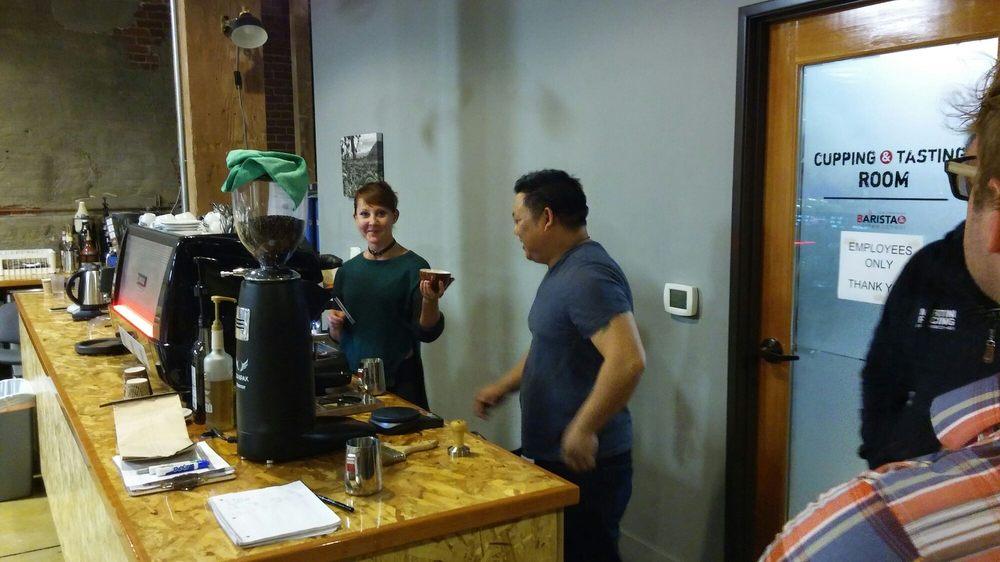 The American Barista & Coffee Workshops