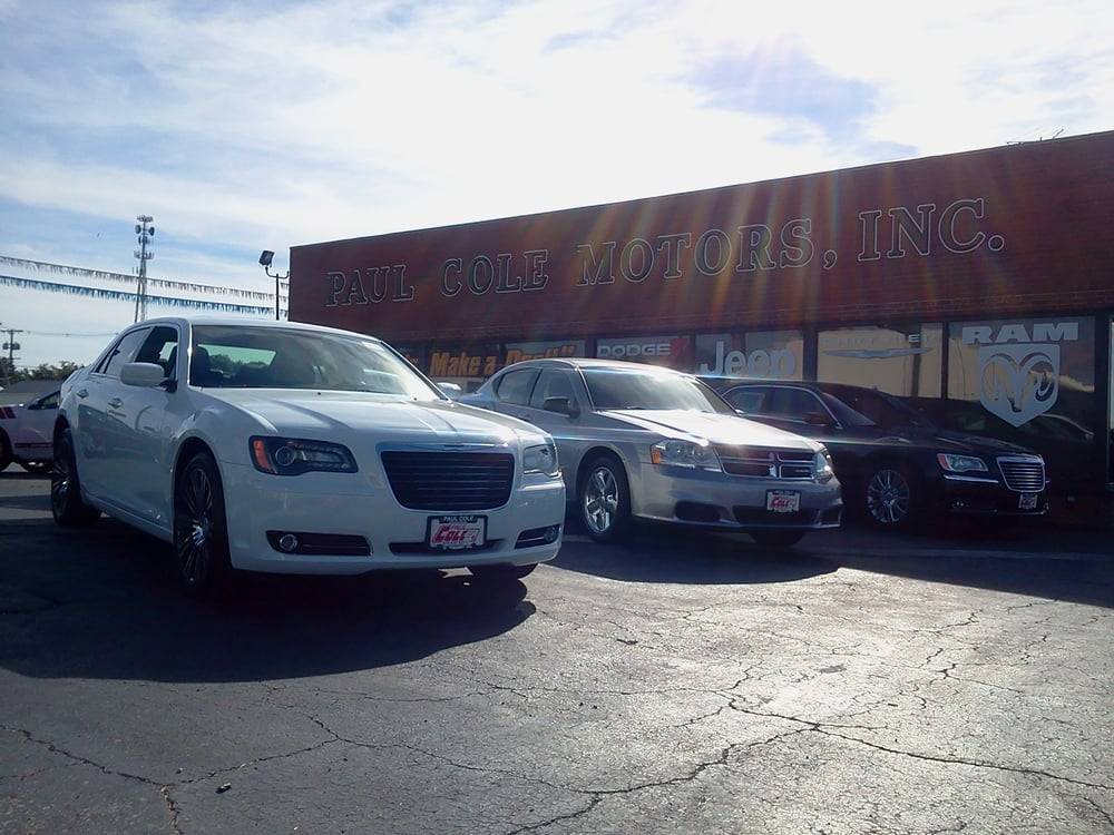 paul cole motors car dealers 1621 n countyline st