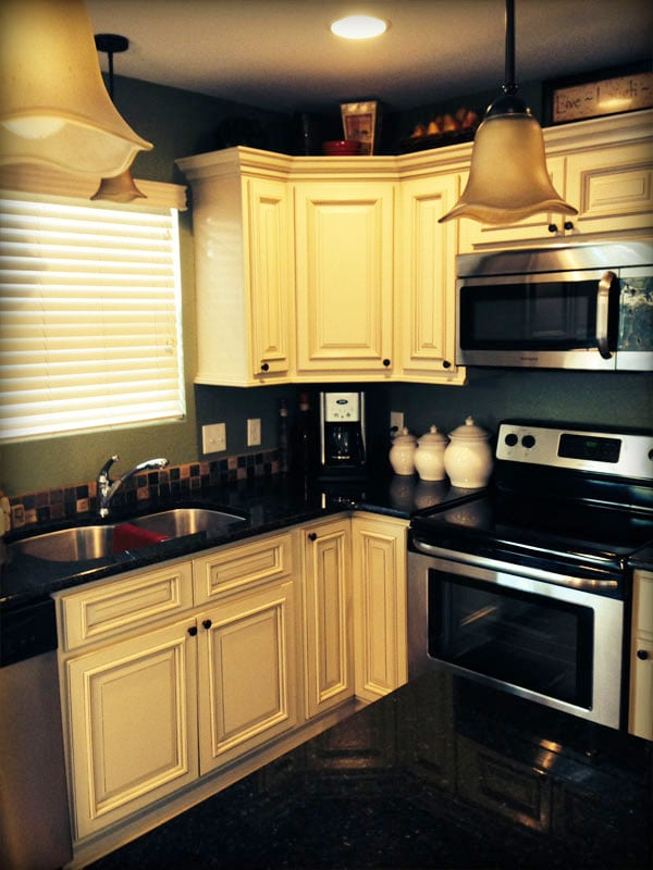 Arlington White Kitchen Cabinets By Lily Ann Cabinets Yelp