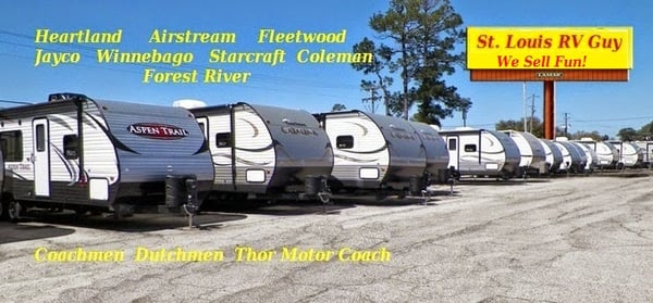 Travel Trailers St Louis Mo