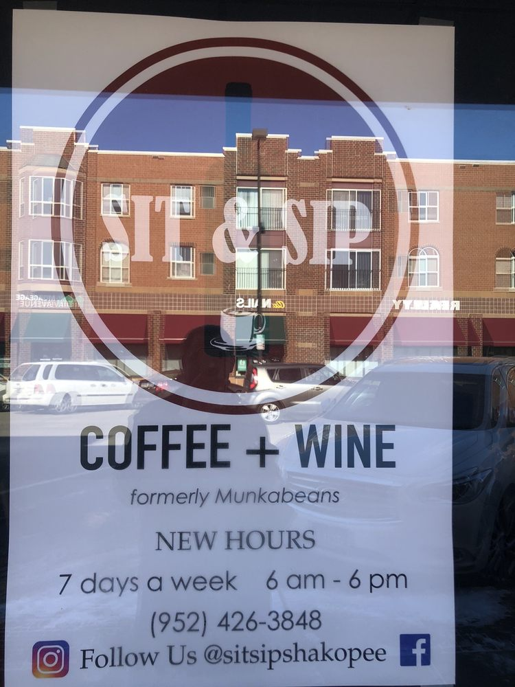 Sit & Sip: 222 1st Ave E, Shakopee, MN
