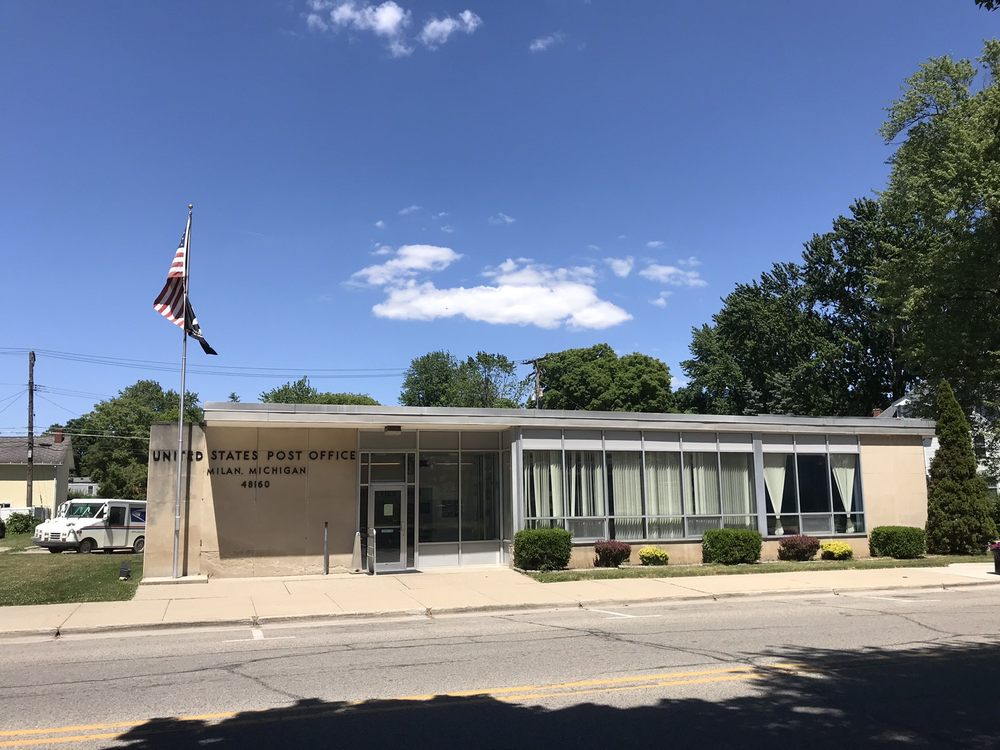 United States Post Office: 123 E Michigan Ave, Clinton, MI