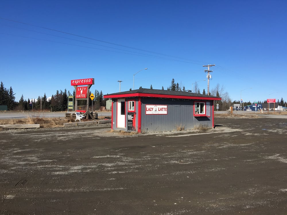 Lazy Latte: 34025 Sterling Hwy, Anchor Point, AK