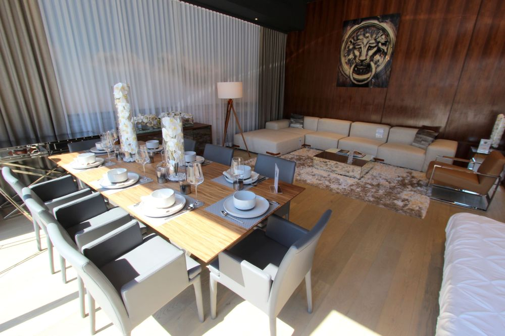 Dining room tables and chairs that only look expensive