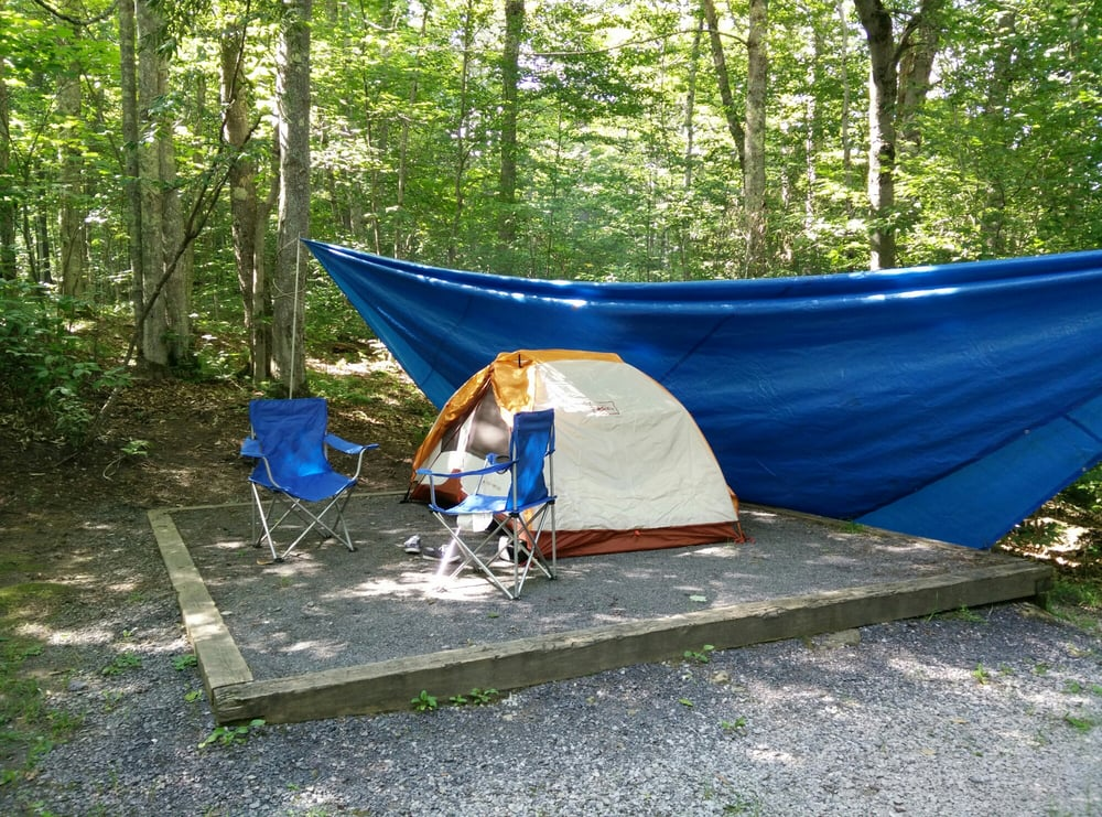 Spruce Knob Lake Campground: Forest Rd 389, Whitmer, WV