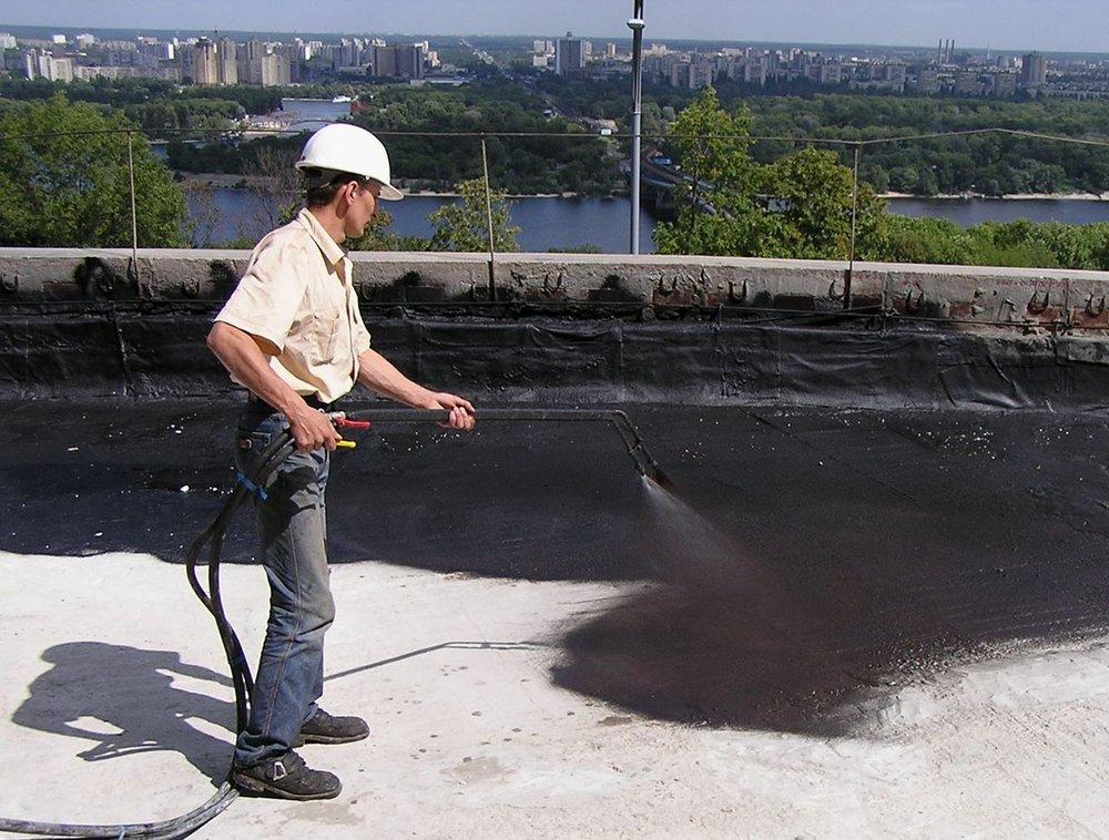 жидкая резина для гидроизоляции крыши