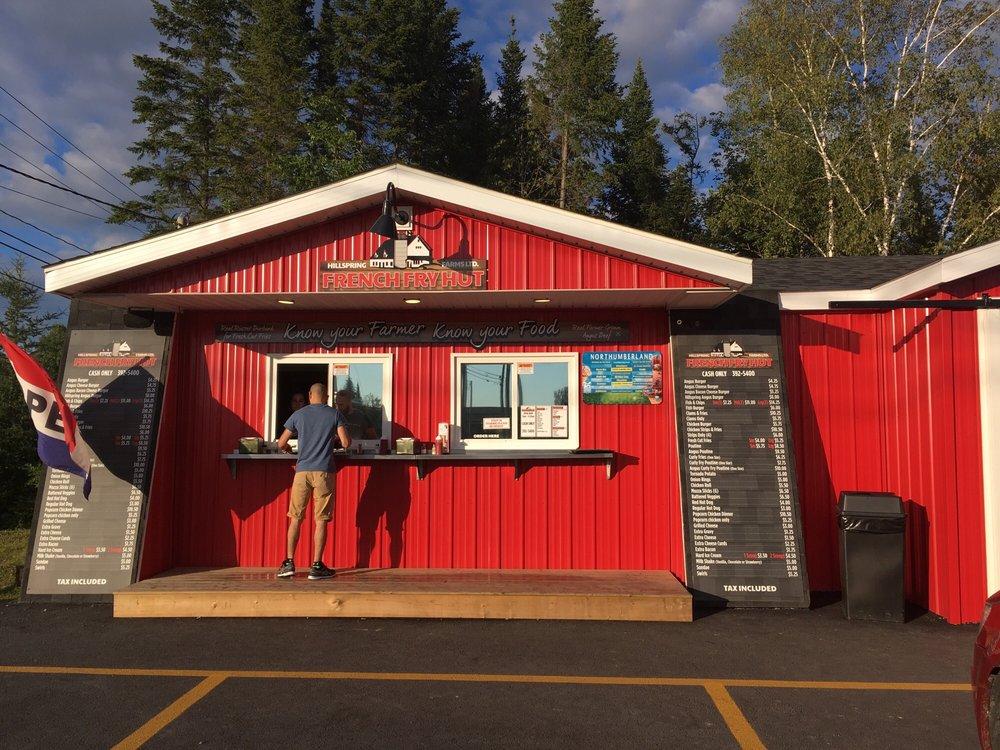 French Fry Hut: 348 NB-110, Florenceville-Bristol, NB