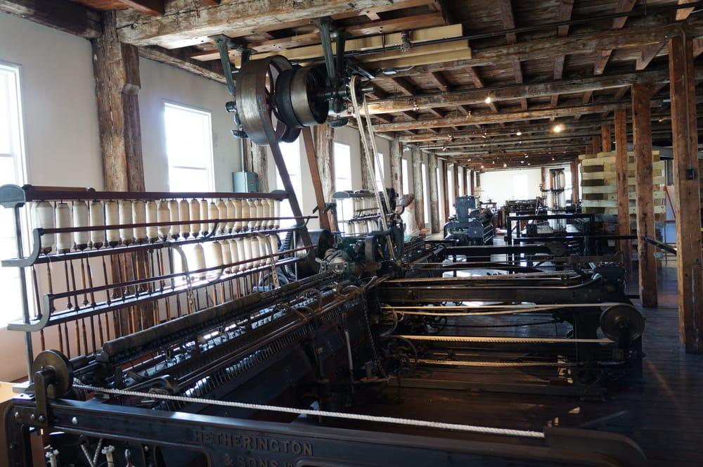 inside slater mill