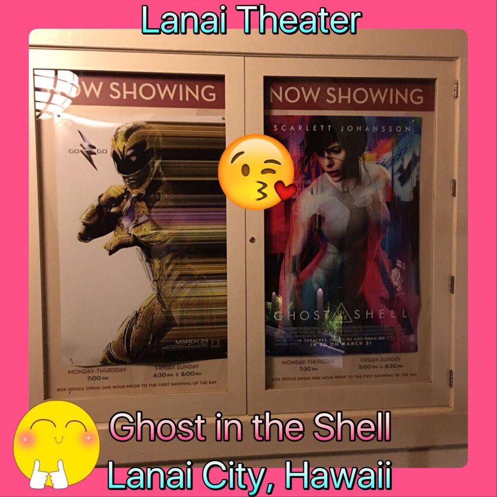 Hale Keaka Lanai Theater: 465 7th St, Lanai City, HI