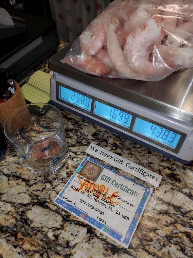 City Girl Seafood: 10341 State Road 52, Hudson, FL