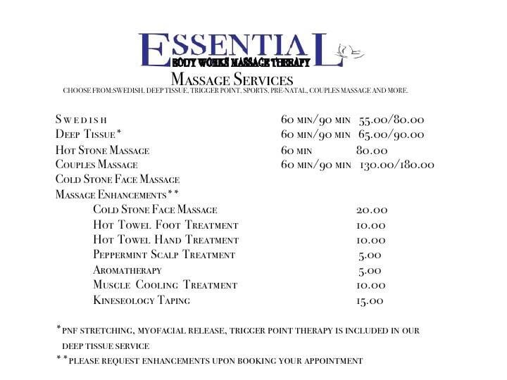 Essential Body Works Massage Therapy - 15 Photos - Massage -7858