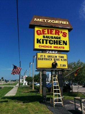 Geiers Sausage Kitchen 7447 S Tamiami Trl Sarasota Fl