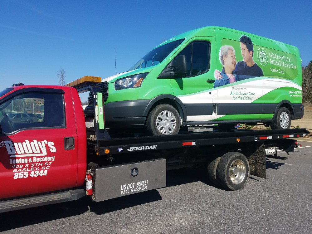 Towing business in Easley, SC