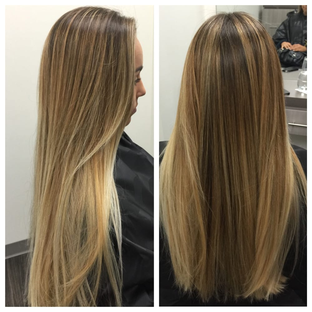 Summer Highlights Balayage Beautiful Sun Kissed Hair Yelp