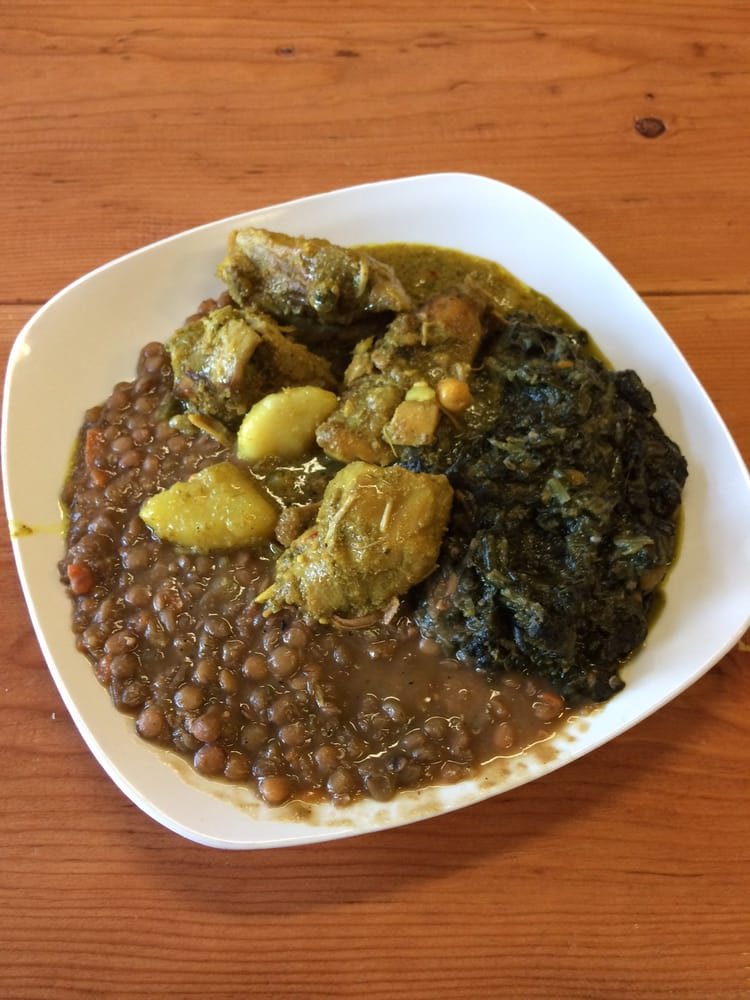 curry chicken lentils callaloo yelp. Black Bedroom Furniture Sets. Home Design Ideas