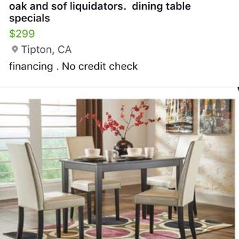 Photo Of Oak And Sofa Liquidators Fresno Ca United States This Table