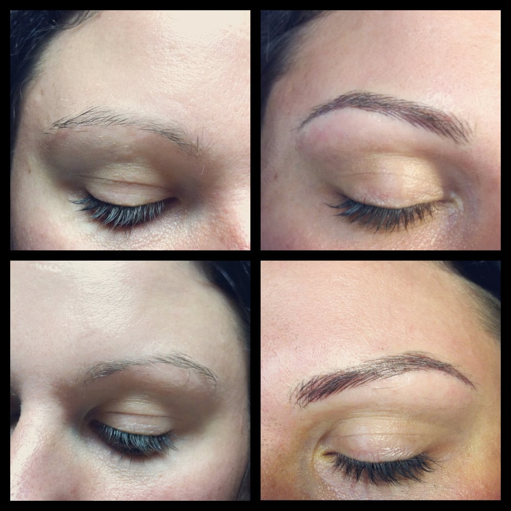 Semi Permanent Makeup / Cosmetic Tattoo / Hair Stroke Eyebrow ...