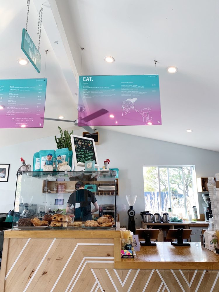 Cat & Cloud Coffee: 3600 Portola Dr, Santa Cruz, CA