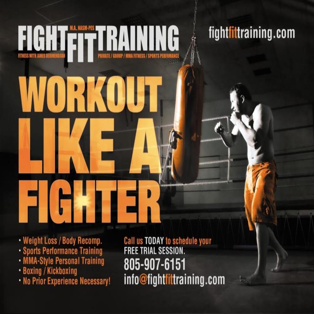 Fight Fit Training: 31125 Via Colinas, Westlake Village, CA