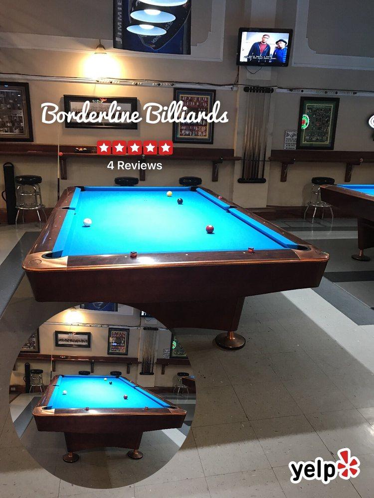 Borderline Billiards - 17 Photos - Pool Halls - 628 State St