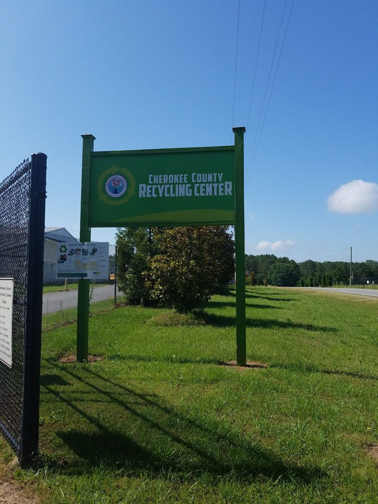 Cherokee County Recycle Center: 470 Blalock Rd, Canton, GA