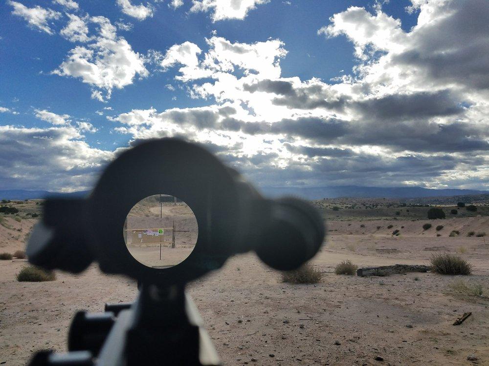 Sidney Paul Gordon Shooting Range: 19 Rock Cliff Rd, La Luz, NM