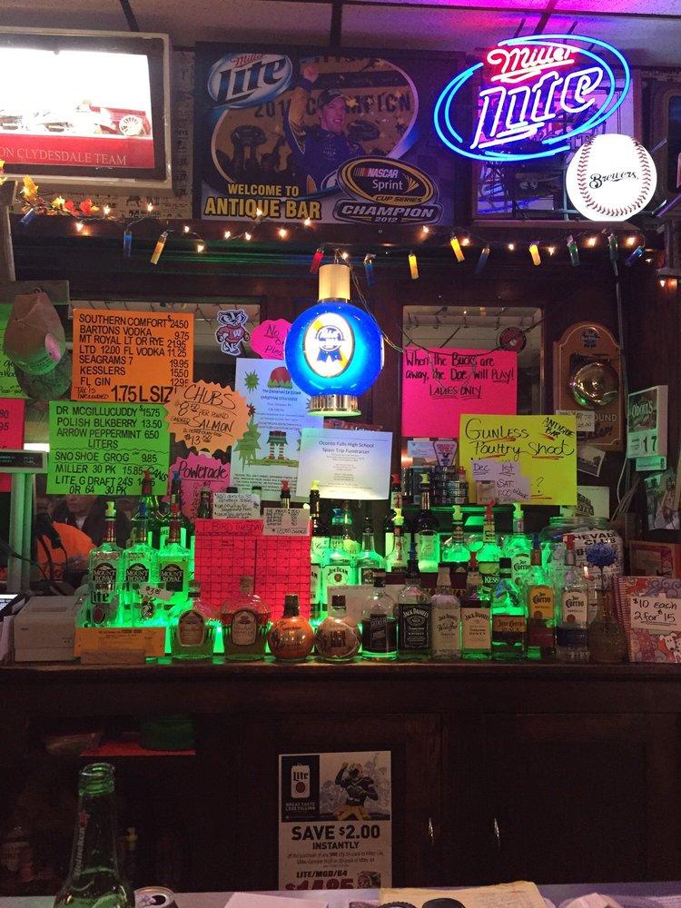 Salscheider's Antique Bar & Liquor: 126 N Main St, Oconto Falls, WI