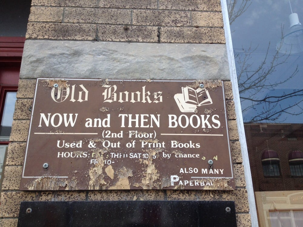 Now & Then Books: 439 Main St, Bennington, VT