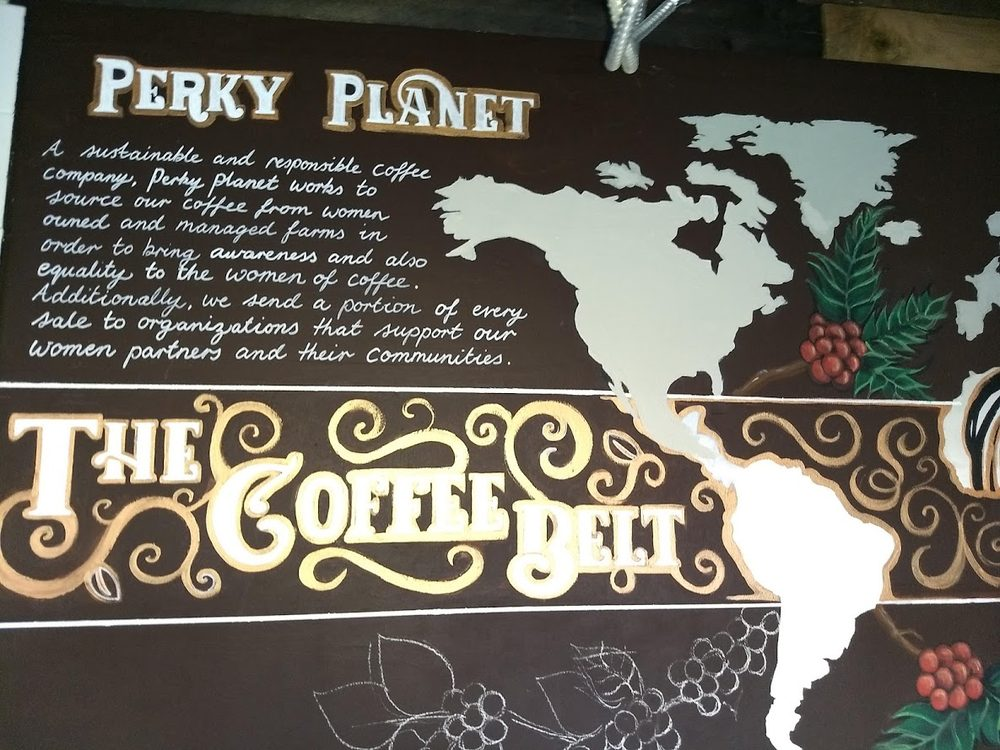 Perky Planet Coffee: 170 St Paul St, Burlington, VT