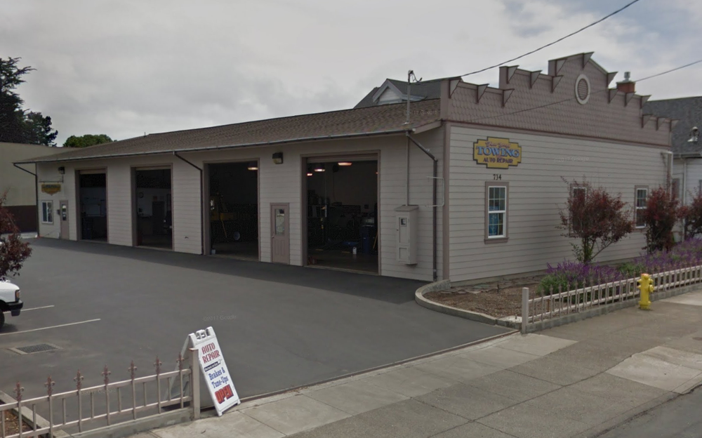 Fort Bragg Towing & Auto Repair: 734 N Main St, Fort Bragg, CA