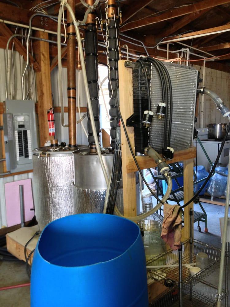 Hard Times Distillery: 175 S 5th, Monroe, OR